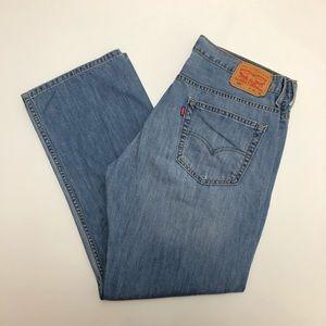 Levi's 569 Straight Leg Jeans Size 34x30